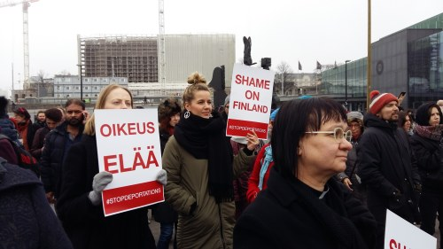 Kraftig okning av demonstrationer i ar