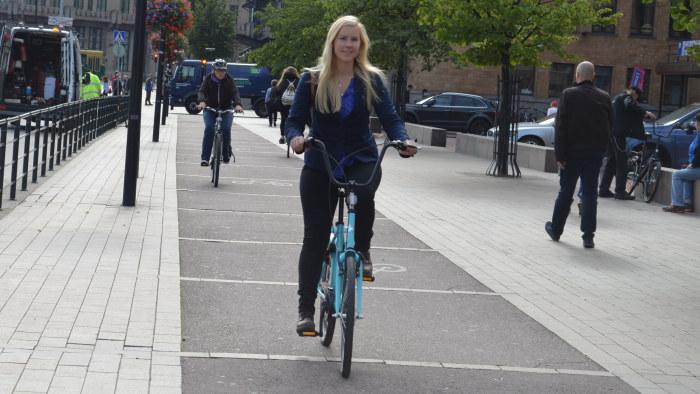 Skadade os cyklisten pa battringsvagen