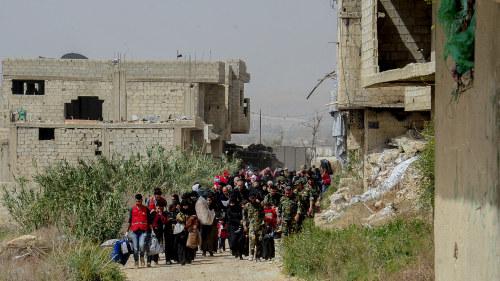 Usa vill hjalpa civila atervanda i syrien