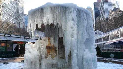 Extrem kyla i nordamerika