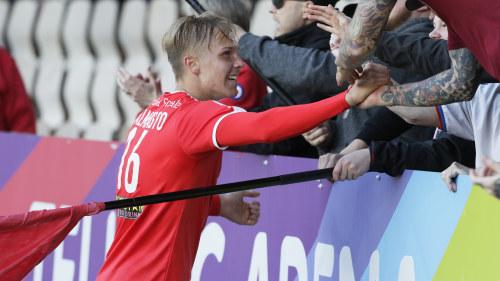 ae8cf111 Tino Palmasto målskytt direkt i ligadebuten – HIFK besegrade VPS och ...