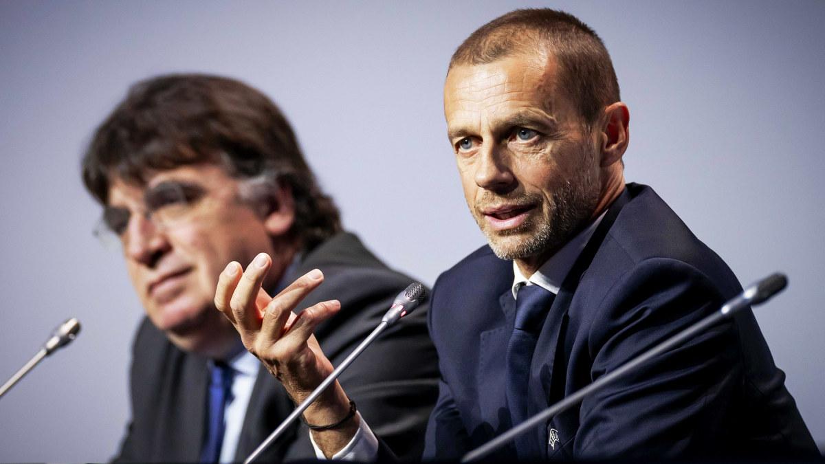 """Coronaviruset hotar inte fotbolls-EM enligt Uefa som anser sig ha koll på läget: """"Fundera inte på de mörka scenarierna"""""""
