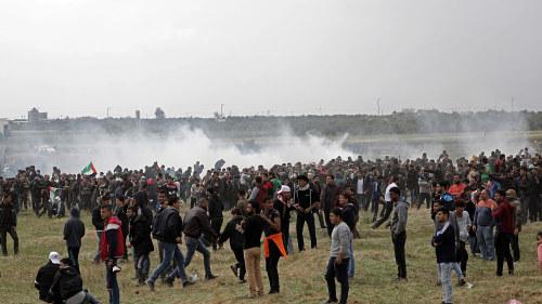 Israeler skot ihjal minst nio palestinier i gaza