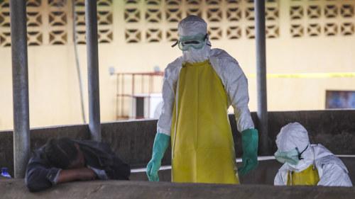 Who varnar for ebolakatastrof