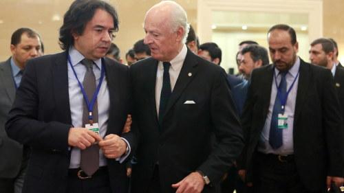 Forhandlingar om fn gisslan i syrien