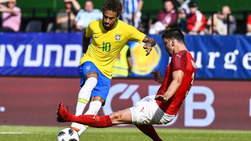 Brasilien vann genrepet