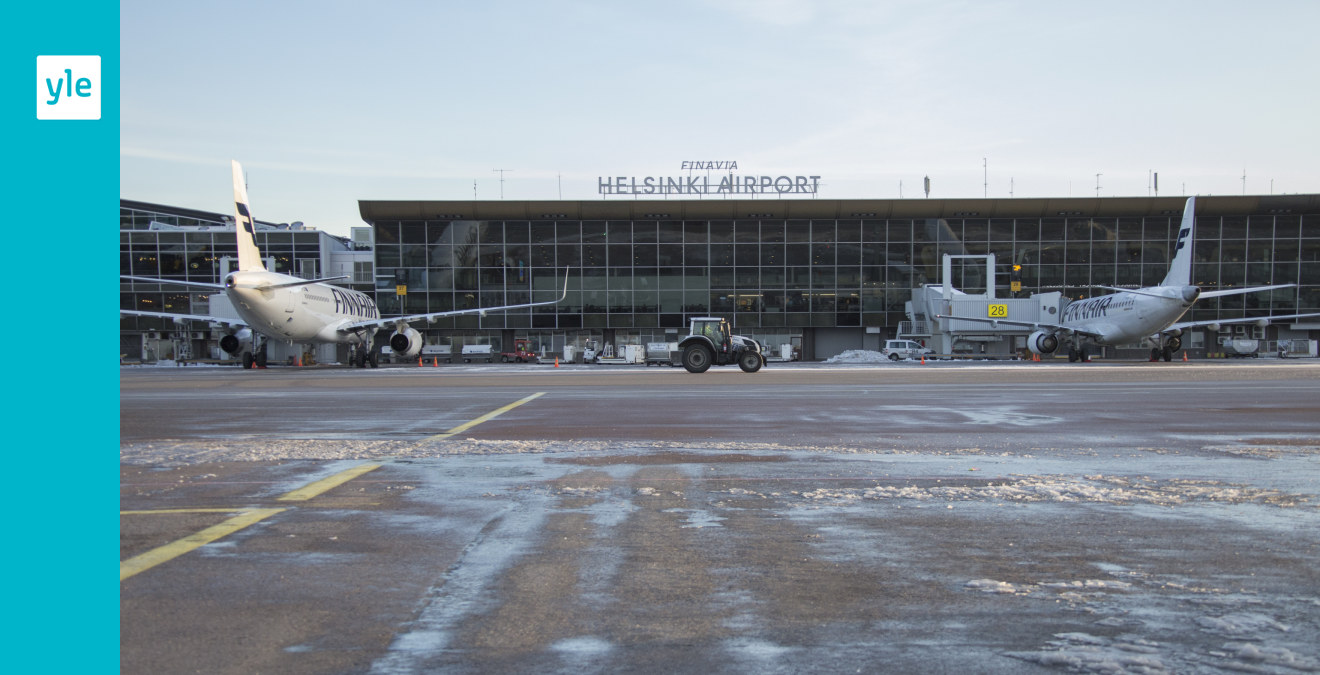 Aircraft flew at Helsinki-Vantaa airport – the planet was