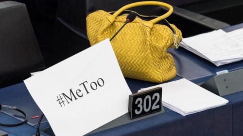 Trakasserier uppror i eu parlamentet