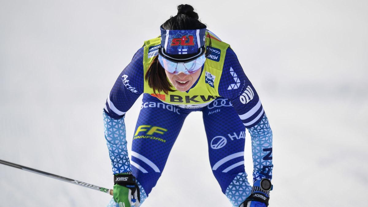 """Krista Pärmäkoski kollapsade efter långloppet – fick ledas från målområdet: """"Minns inget efter att jag föll ihop"""""""
