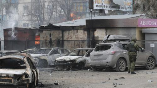 Mojligt eldupphor i ukraina