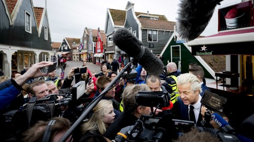 Populistparti besegrat i nederlanderna