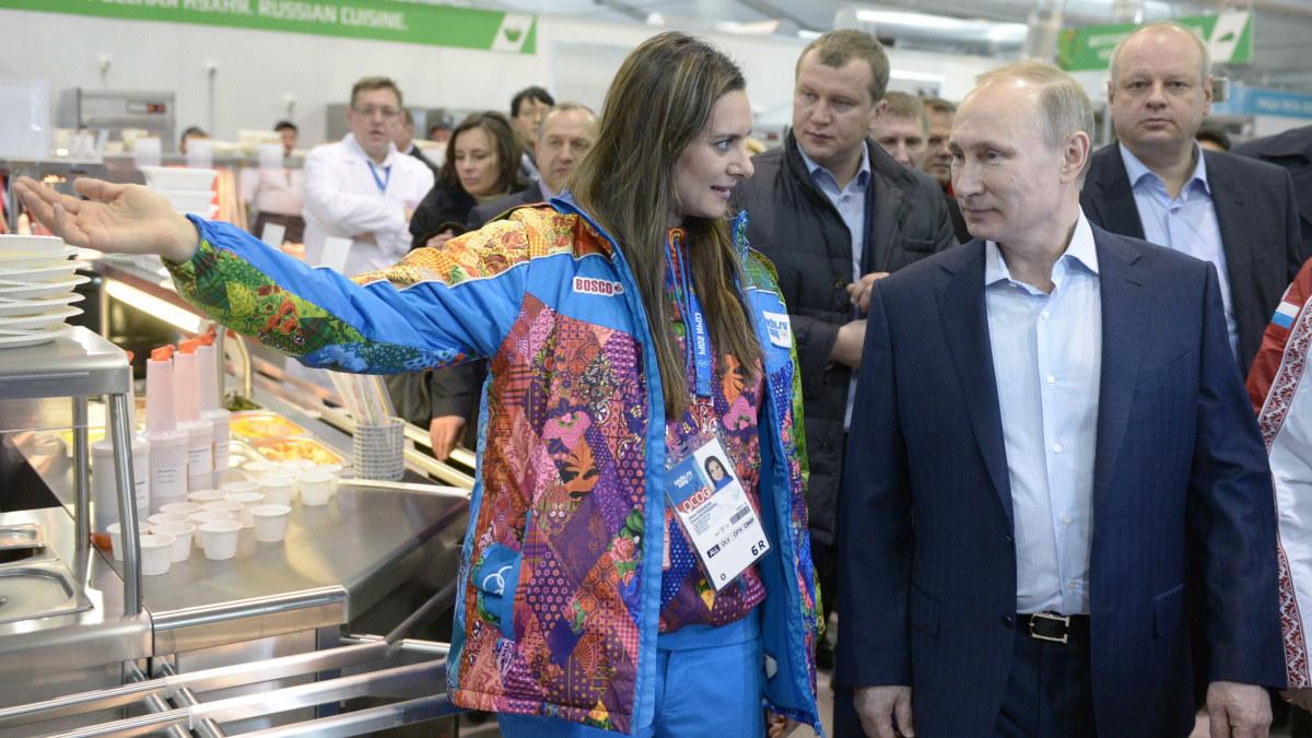 Isinbajeva gor comeback efter fodsel