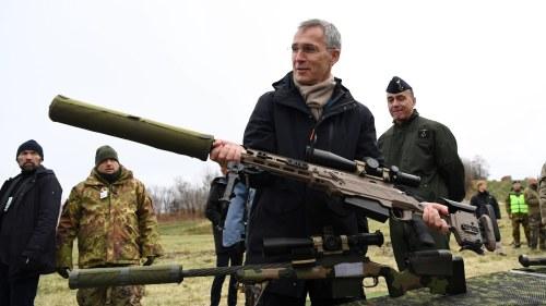Nato drar in sverige i nytt krig