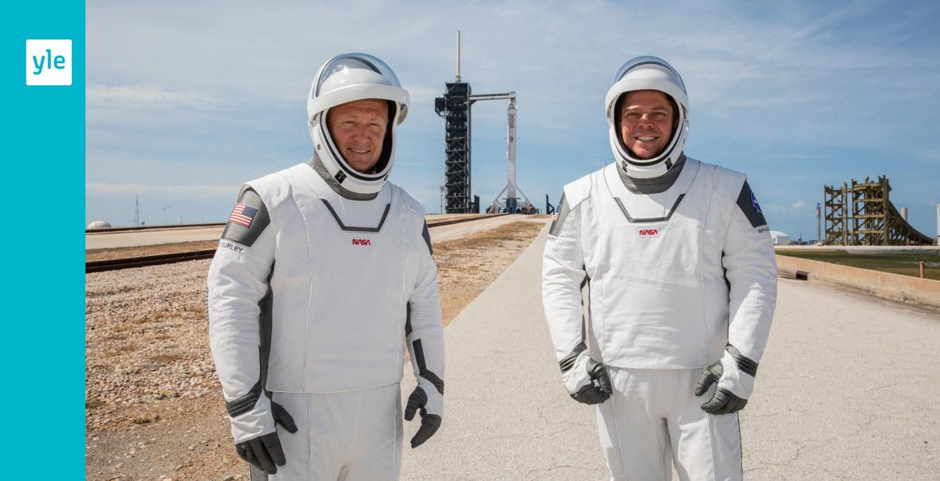Nytt försök med SpaceX rymdraket i kväll – vädret stoppade första försöket
