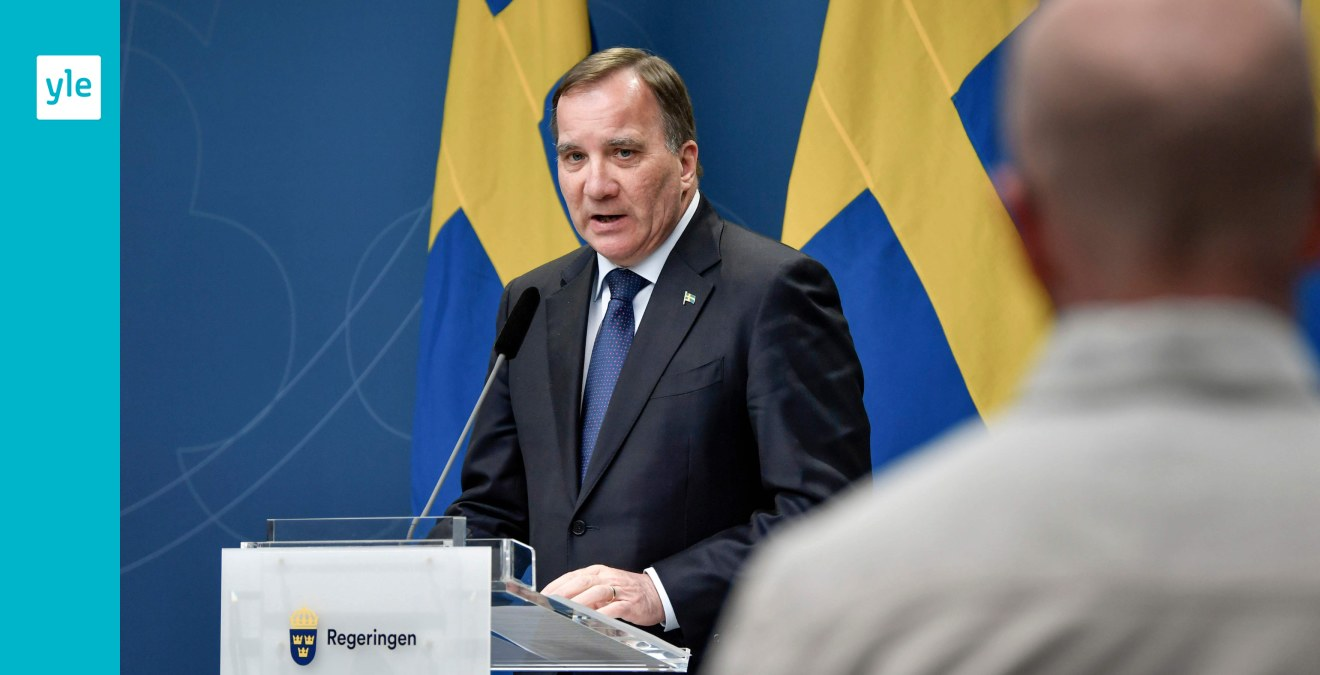 Sverige Forlanger Avradan Fran Icke Nodvandiga Resor Lofven Den Har Sommaren Blir Annorlunda Utrikes Svenska Yle Fi