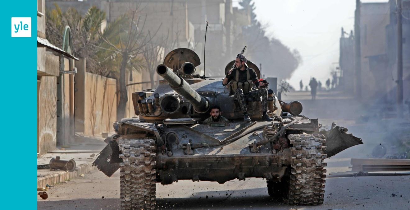 Farlig upptrappning i Idlib med över 30 dödade turkiska soldater - Turkiet säger sig nu öppna gränsen mot Europa för ...