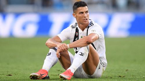 Ronaldo med den har tranaren