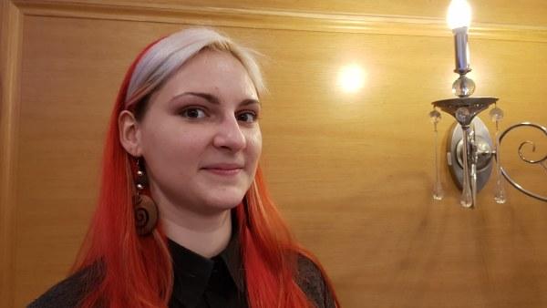 Jelizaveta Merinova är en aktiv miljökämpe som själv sorterar sina sopor.