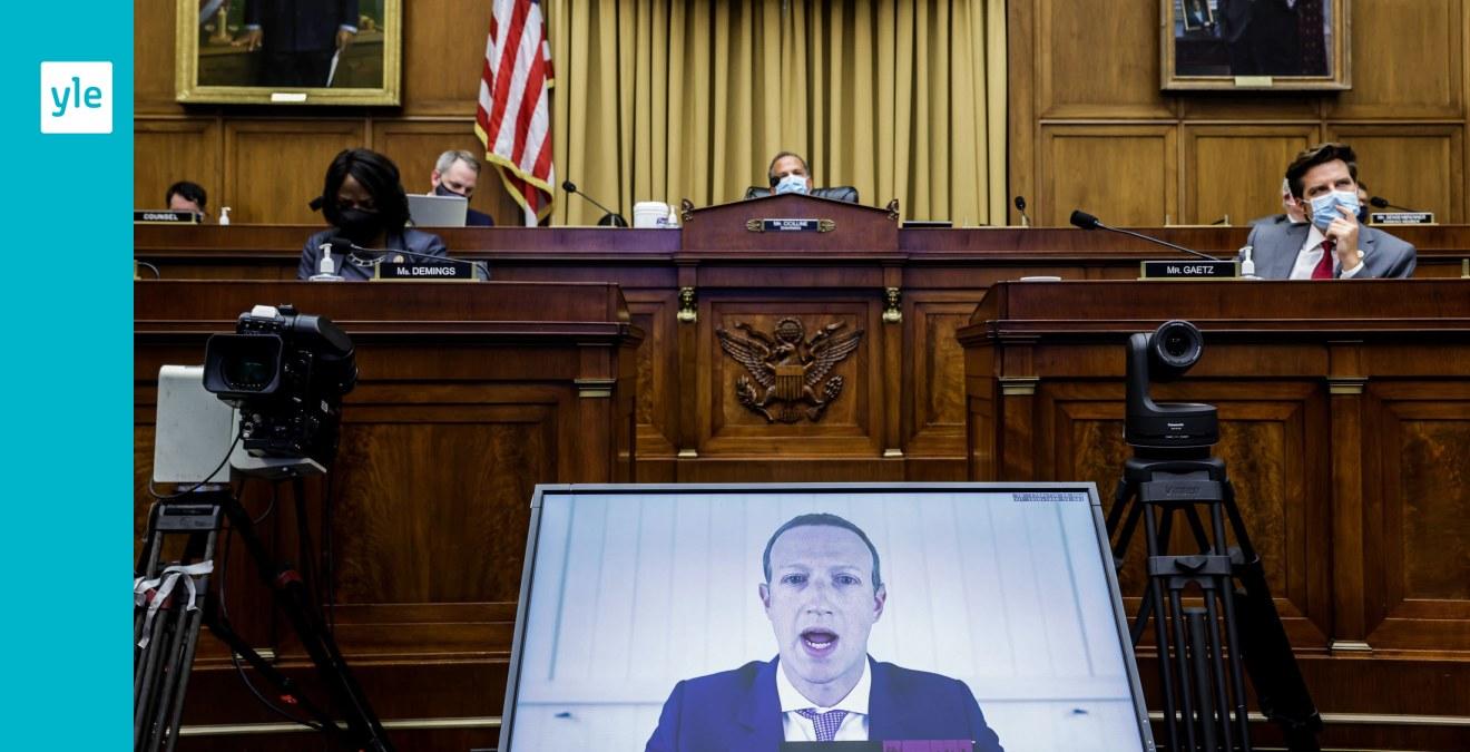 """""""De har för mycket makt"""" - teknologijättarna grillades av amerikanska kongressen"""