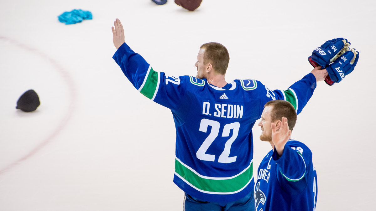 Sedin ledde vancouver till femte raka segern