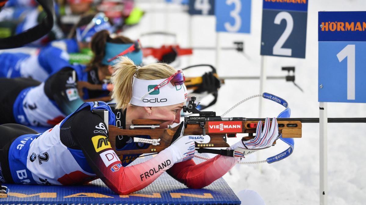 På tv i dag: Stafetter i skidskytte-VM – Norge favorit i båda tävlingarna