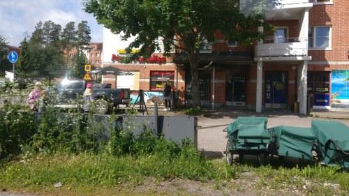 Brandbomb mot restaurang