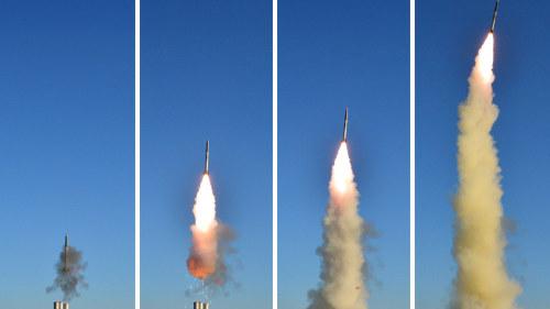 Usa plan avfyrade ny missil mot irak