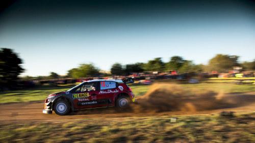 Loeb snabbast i jordaniens vm rally