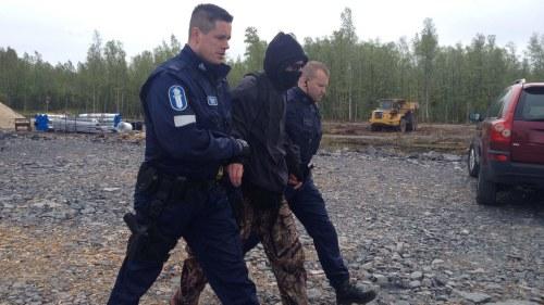 Aktivister har trangt in pa karnkraftverk