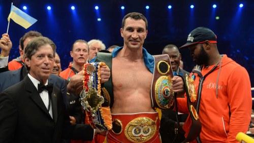 Ukrainaren klitsjko vann wbo titeln
