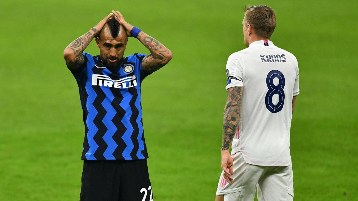 """Real Madrid kan ha grusat Inter Milans chanser att avancera i Champions League: """"Att ta ett rött efter 30 är att döda laget"""""""