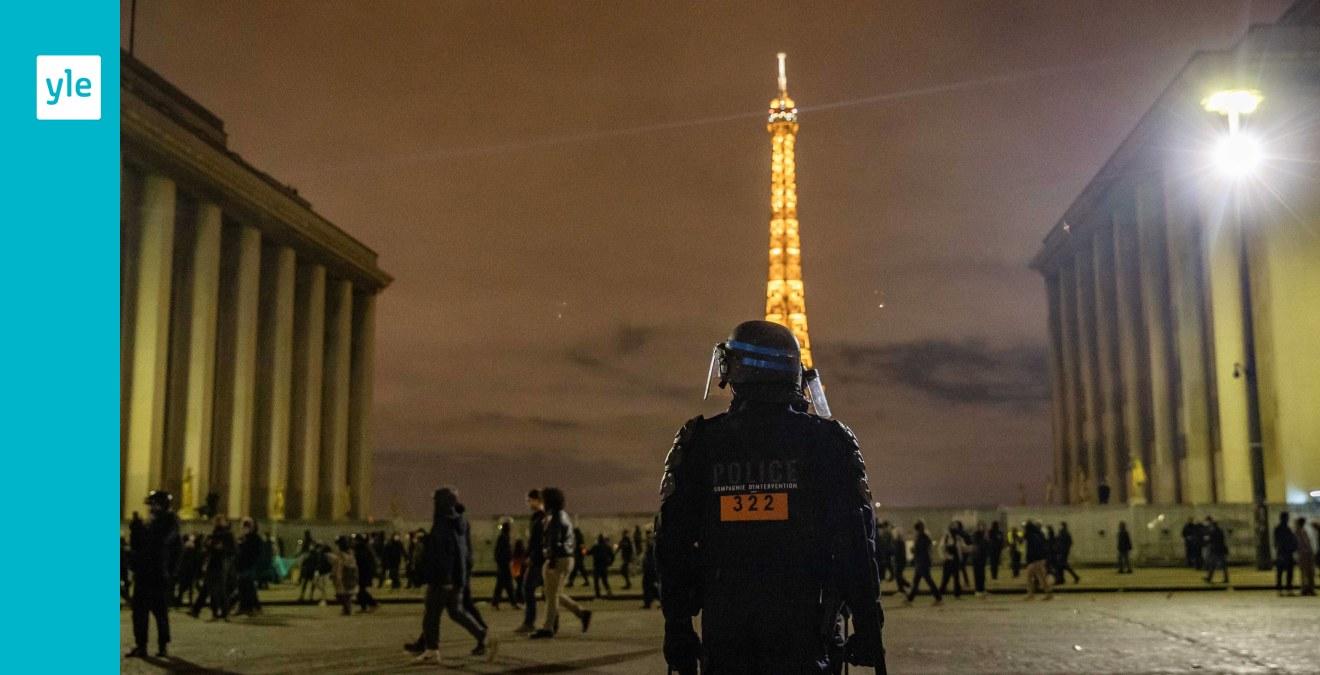 President Macron fördömer polisbrutalitet mot svart man i Paris