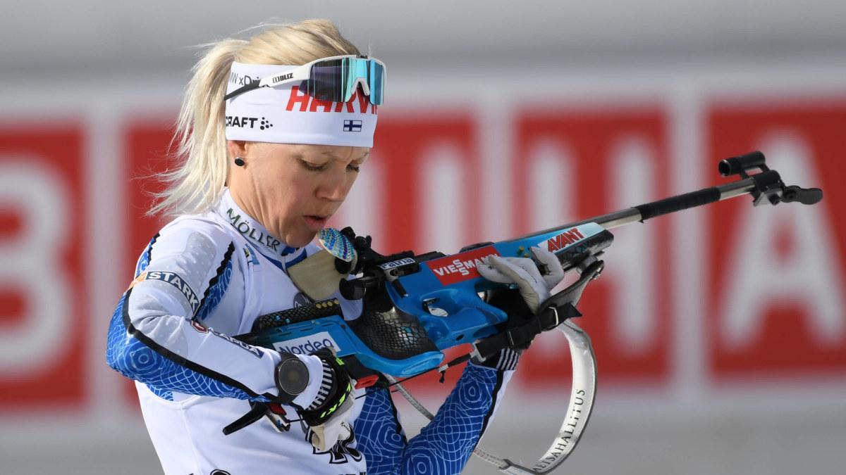 Samma gamla visa för Kaisa Mäkäräinen – vill inte spekulera om sin framtid efter sämsta världsmästerskapet på över ...