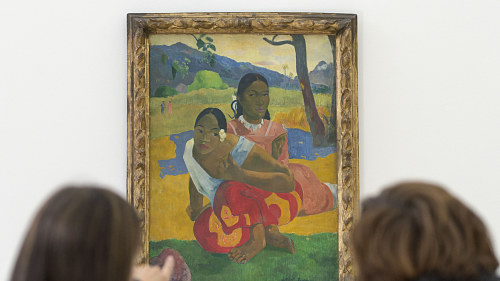 Paul Gauguins tavla När ska du gifta dig  eller Nafea Faa Ipoipo. fb690fb798818