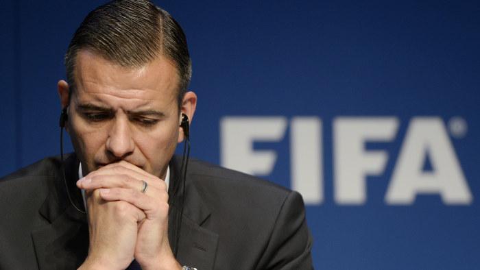 Fifa kandidat misstanks for mutbrott