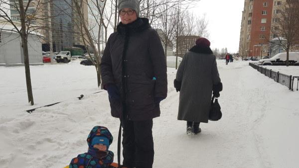 Irina Sittnikova vill gärna sortera sopor och försöker undvika engångsplast.