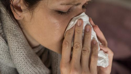 förkylning trött i kroppen