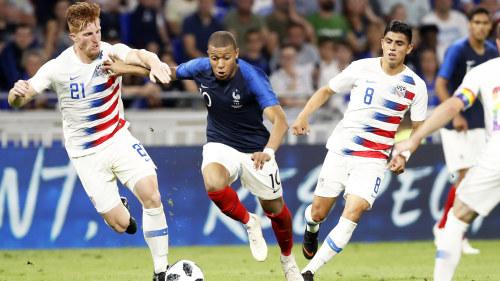 Mbappé räddade utbuat Frankrike från pinsam flopp i VM-genrepet ... fdd1de0895420