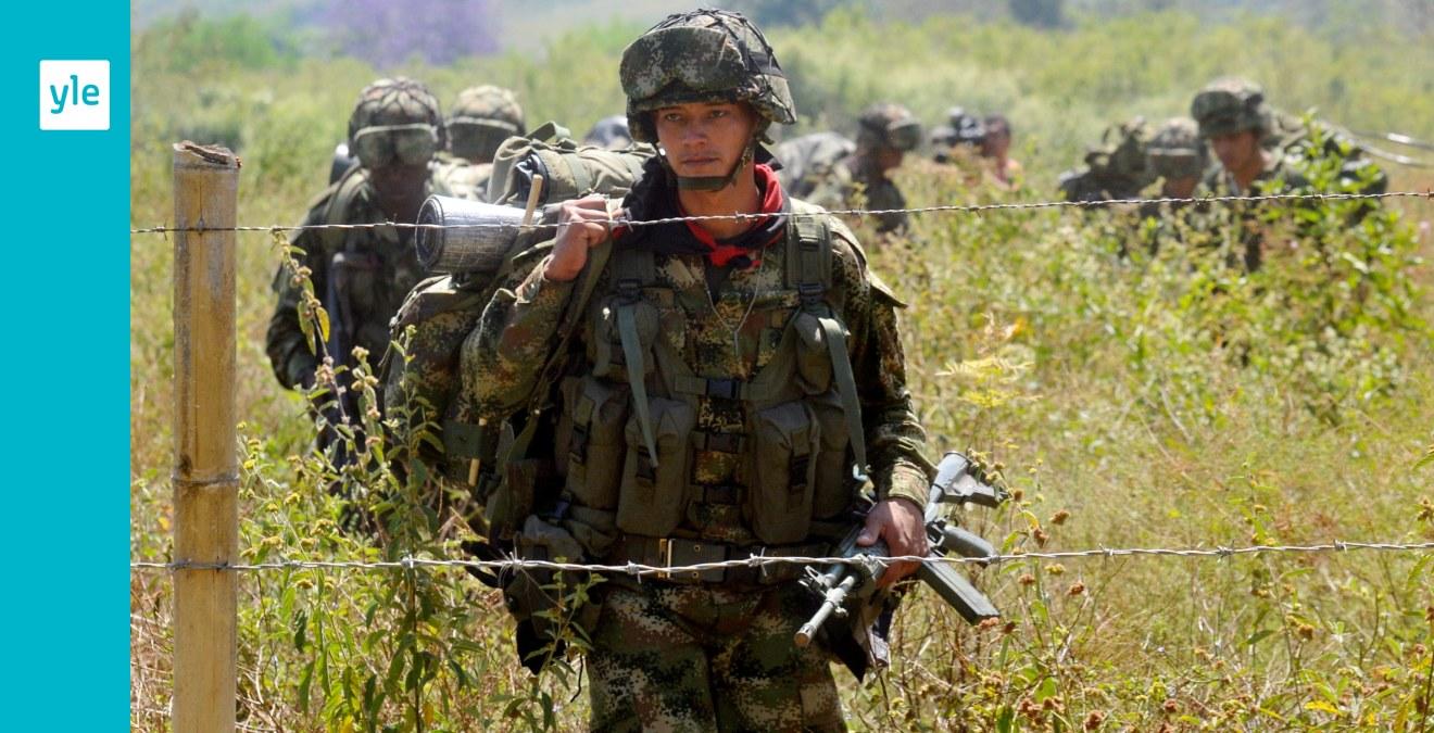 Colombias president bekraftar fredssamtal med farc