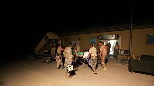 Usa trupper redan inne i afghanistan