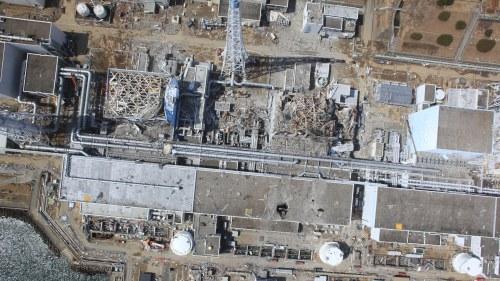 Hardsmalta i tre japanska reaktorer