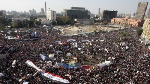 Egypten protester