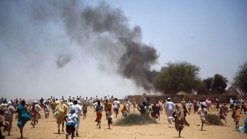 Fn helikopter kraschade i sydsudan