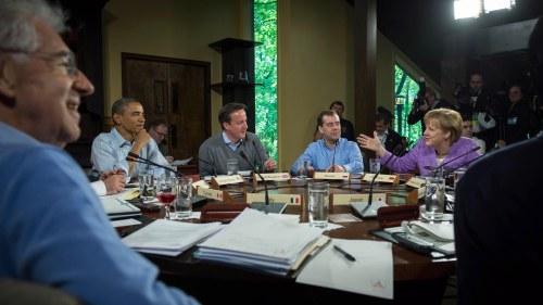 G8 mer usa vanligt med nya europa