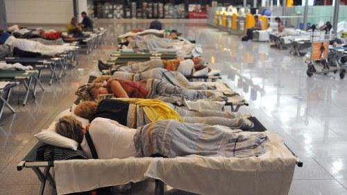 Lufthansa staller in hundratals flyg nu
