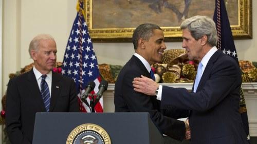 Kerry funderar pa presidentvalet