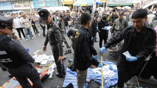 Explosion pa sjukhus i bangkok