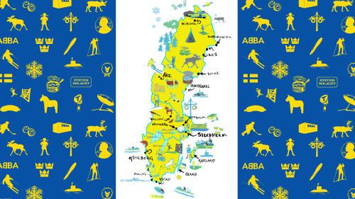 Ruotsi Paasta Varpaisiin Sverige Fran Topp Till Ta Kielet
