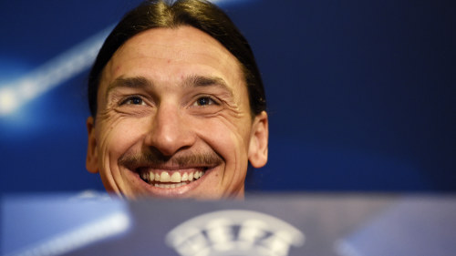 Zlatan flog hem under matchen