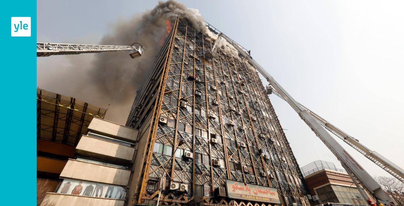 Fyra skadade vid explosioner i teheran